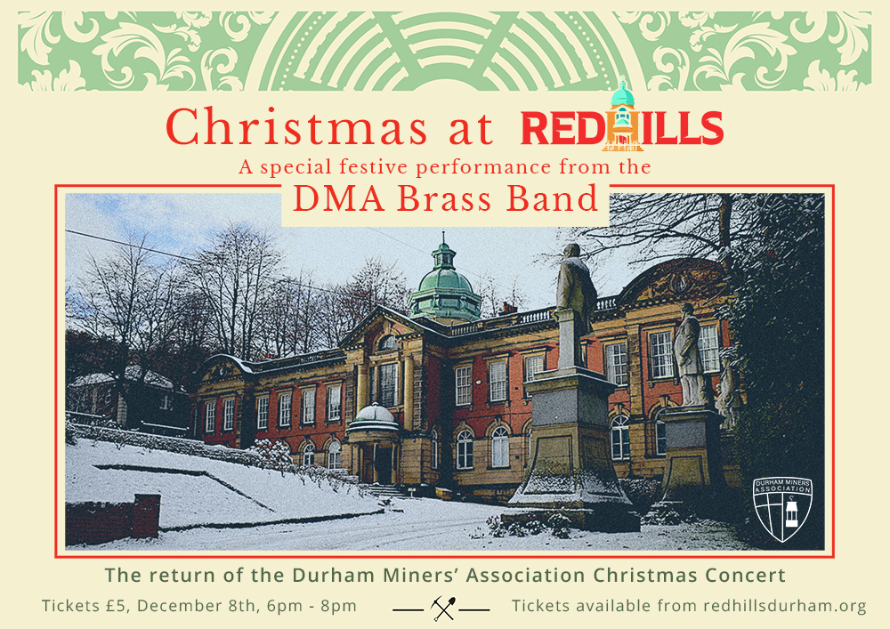 Christmas at Redhills with the DMA Brass Band @ Redhills:Durham Miners Hall
