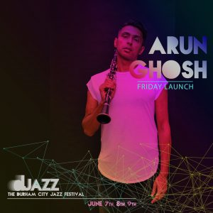 Arun Ghosh live in concert @ Redhills: Durham Miners Hall | England | United Kingdom