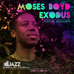 Moses Boyd Exodus live in concert @ Redhills: Durham Miners Hall