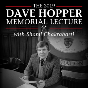 The Dave Hopper Memorial Lecture with Shami Chakrabarti @ Redhills: Durham Miners Hall