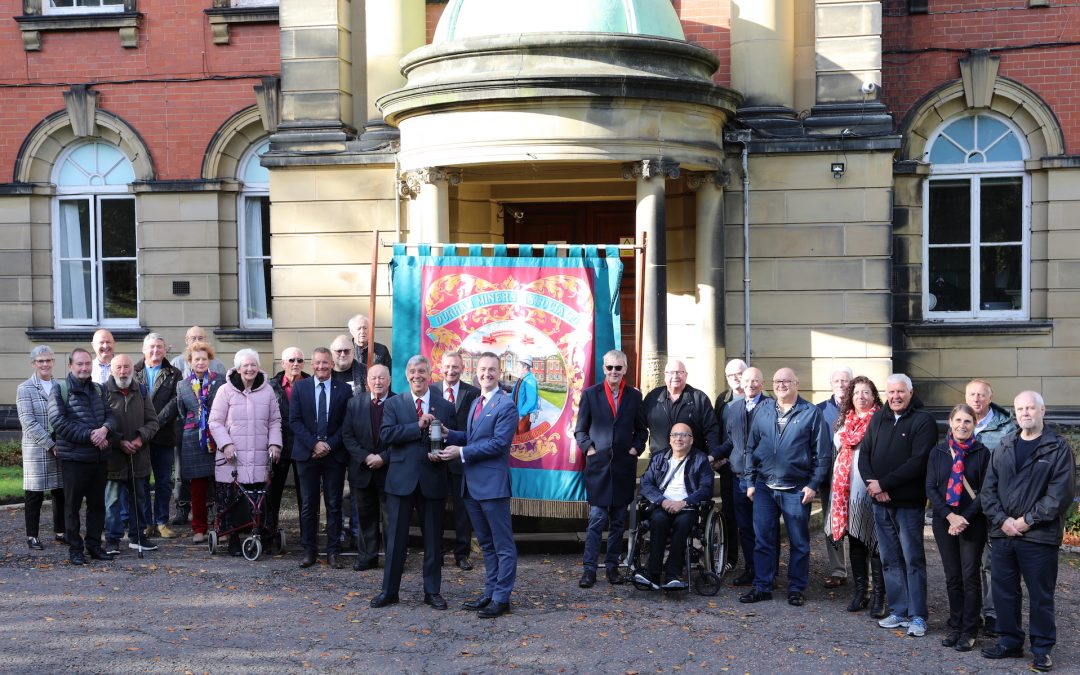 Durham Miners Association hands Redhills over to the people
